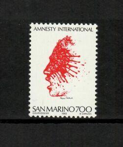 s34616 SAN MARINO 1982 MNH** Amnesty International 1v x 10 SETS