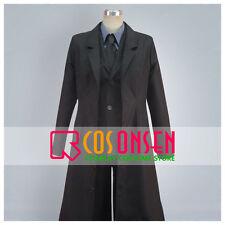 Cosonsen Fate/Zero Kiritsugu Emiya Cosplay Costume Full Set Black Uniform
