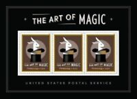 USA NEW Art of Magic 2018 MNH Souvenir Sheet Forever Stamps. Disappearing Rabbit