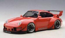 1/18 Autoart - Porsche 993 Rwb (rosso / Gun Grigio CERCHI)