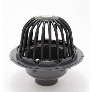 """PROFLO PF42871 4"""" Pvc Roof Drain With Plastic Dome"""