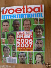 VOETBAL,FOOTBALL,SOCCER,SEASON 2006/2007 COUNTRY TEAMS,ITALY,SPAIN,UK,FRANCE,GER