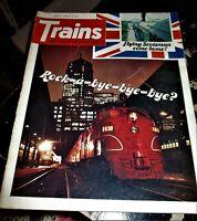 Trains Magazine July 1975 Issue