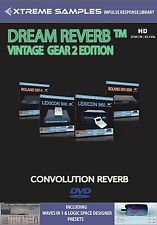 XTREME samples Dream Reverb VINTAGE GEAR 2 HD (Reverb impulsi response Library)