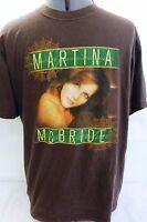 Martina McBride-Concert T-Shirt-2006 Timeless Tour, Adult-Mens Medium