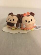 Disney Mickey and Minnie Plush Ufufy Brand New!