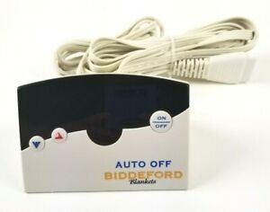 Biddeford Auto Off TC12B0-D 76 PA Electric Heating Blanket Controller 4 Prong