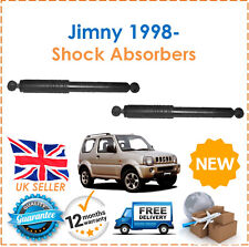 For Suzuki Jimny SN 1998- Two Rear Gas Shock Absorbers Dampers Set Pair x2 New