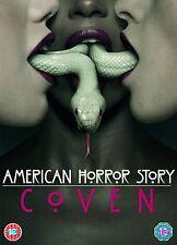 AMERICAN HORROR STORY Stagione 3 (Coven) BOX 3 DVD in Inglese NEW PRENOTAZ.