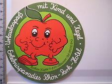 Aufkleber Sticker Erlebnisparadies Rhön Park Hotel Urlaubsspaß (4022)