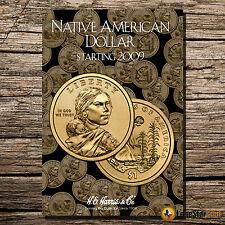 Native American Dollar Starting 2009  Folder #3162