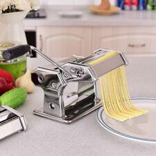 Machine à Pâtes Machine à Ravioli Acier Inoxydable+Outil de Coupe+Pince de Table