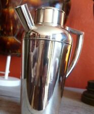CHRISTOFLE Antique Art Deco Shaker cocktail 1920 silver plated 21 cm RARE Handle