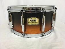 "Pearl Session Studio Classic 14"" X 6.5"" Snare Drum/Black & Tan/Finish #307/NEW"