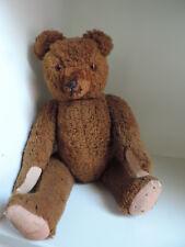 Bär,Teddy,Teddybär, 45 cm,braun ,antik