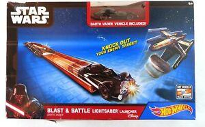 Hot wheels Star Wars Blast and Battle lightsaber launcher Disney
