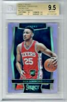 2016-17 Select National Pink Prizm Ben Simmons 15/15 76ers BGS 9.5 RC #60