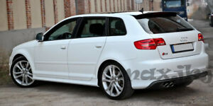 Side Skirts Side Panels (S3 Look) for Audi A3 8P 5 Doors Sportback