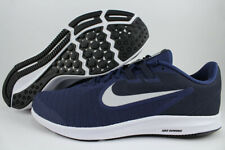 6f8c952cb0c94 NIKE DOWNSHIFTER 9 EXTRA WIDE 4E EEEE NAVY BLUE SILVER WHITE RUNNING MENS  SIZES