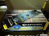 10 x OLYMPIA 3V Knopfzellen CR1220 / CR-1220 / CR 1220, Knopfzelle, Zelle, NEU