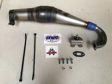 OLIMAT HPI KM ROVAN BAJA Exhaust Pipe System  - silenced side pipe version