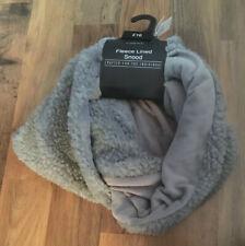 Next Grey Fleece Lined Snood One Size RRP £16 BNWL