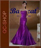 Abendkleid Brautjungfernkleid Ballkleid Kleid Rotlila asymmetrisch NEU 38 AS01RL