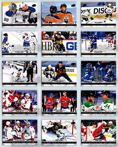 2021-22 UD TIM HORTONS PHOTO FINISH COMPLETE 15 HOCKEY CARD INSERT SET LOT NEW
