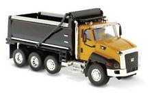 1/50 DM Caterpillar Cat CT660 Dump Truck Yellow and Black Diecast Model #85290