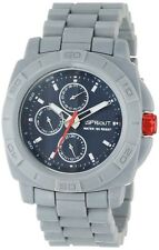 SPROUT GRAY CORN RESIN+BLACK DIAL+CHRONO-DAY,DATE,24HR  WATCH ST/3803NVGY+BOX