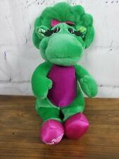 """Barney and Friends Baby Bop Plush Stuffed Animal Toy 14"""" Tall Green"""