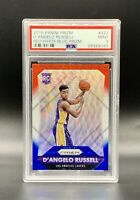 ❤️2015 Panini Prizm Red/White/Blue #322 D'Angelo Russell Psa 9 Mint Pop 8!