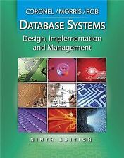 Database Systems: Design, Implementation, and Management (with Premium Web Site