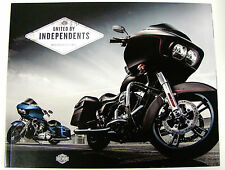 2015 HARLEY DAVIDSON SOFTAIL DYNA SPORTSTER TOURING V-ROD MODEL SALES BROCHURE