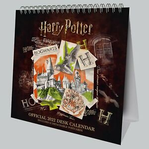 Harry Potter 2022 Postcard Desk Easel Calendar