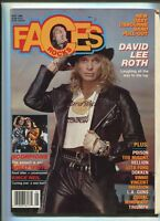 Faces Rocks May 1988 David Lee Roth  Ozzy Osbourne Band 88 Pull Out  MBX100