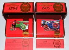 MATCHBOX YESTERYEAR Y21 AVELING & PORTER STEAM ROLLER Y19 FOWLER SHOWMANS ENGINE