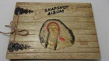 "Vintage Snapshot Album Toronto Canada Engraved Chief  Never Used 9"" x 6 1/2"""