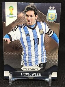 2014 Panini World Cup Prizm Lionel Messi #12 First Year Prizm