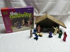 1997 Bible Greats The Christmas Nativity playset not complete