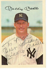 Dexter Press 1966 Mickey Mantle 4x6 Player Card - Autographed - Personalized