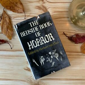 1970s Vintage Horror Book 'The Bedside Book Of Horror' - Halloween - Spooky Book