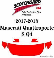3M Scotchgard Paint Protection Film Pro 2017 2018 Maserati Quattroporte S Q4