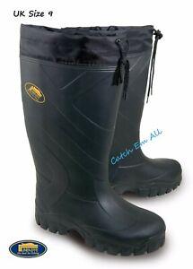 4 Seasons Thermal Lightweight EVA Wellies Wellingtons Boots Lineaffe Size 9