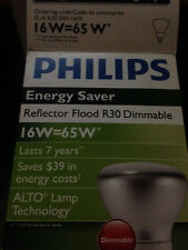 Philips El/A R30 Dim 16W= 65W Dimmable Flood Light.- Lasts 7 Years Energy Saver!