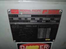 Federal Pacific Industrial Electrical Transformers for sale ... on