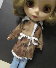 Blythe Outfit Clothing Brown Coat