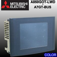 Mitsubishi A850GOT-LWD with A7GT BUS COLOR touch screen good working condition