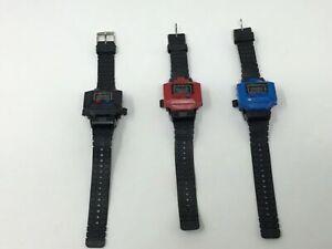 Takara Like Transformers Watch Scorpia Quartz Robot: Black, Blue, or Red TESTED