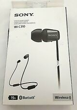 Sony WI-C310 Wireless in-Ear Headset/Headphones with Mic